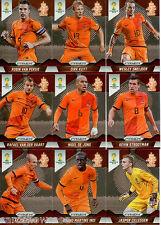 2014 Brasil FIFA World Cup Soccer Prism Card Base Team Set Netherlands (9)