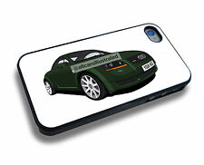 AUDI TT iPHONE 4/4s & iPHONE 5/5s/5c/6/6s/7 PERSONALISED CLIP ON COVER