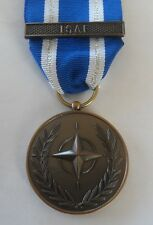 NATO ISAF Full Size Medal, Military, Ribbon, Replacement, Army, Military, Clasp