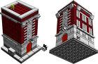 LEGO Ghostbuster HQ PDF only instructions custom mini modular 10228 10230 MOC