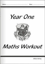 KS1 Maths Numeracy Workout Book - Year 1 by CGP Books (Paperback, 2001)