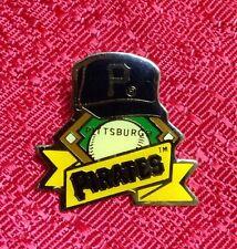 Pittsburgh Pirates Logo Pin MLB Hat On Baseball Diamond