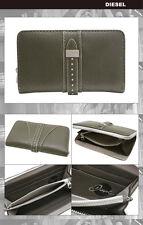 Diesel Collection Clutch Zip Arround Granato Khaki Wallet