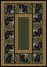 Hautman Bear Family Area Rug! Beautiful! Other Sizes Available!