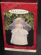 1997 Barbie WEDDING DAY Ornament Hallmark NRFB