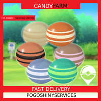 Pokemon Go - 100x Candy farm! Any nesting species. Shiny chance!