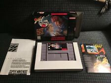 Street Fighter Alpha 2 For Super Nintendo Snes With Box - Tested