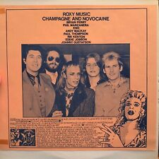 "Roxy Music ""Champagne and Novocaine"" BBC 1972-1974"