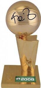 """Kevin Garnett Boston Celtics Signed 2008 NBA Finals Auto 12"""" Trophy FANATICS COA"""