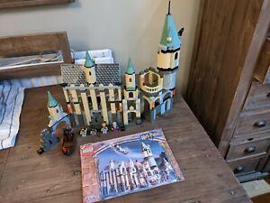 LEGO HARRY POTTER HOGWARTS CASTLE 4709 + INSTRUCTIONS EXCELLENT CONDITION!!!!!
