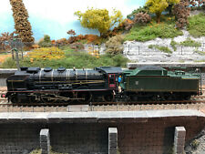 JOUEF HO - Pacific 231 K 28 noire avec tender 38 A1 nord vert ep III SNCF