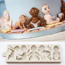 Silicone Fondant Mould Sugarcraft Cake Decorating Border Baking Mold Baby Shower