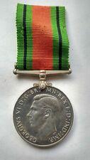 Original Full size  WW2 Defence Medal 1945.  With original ribbon.