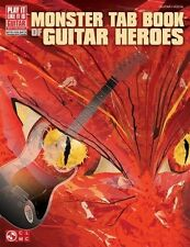 MONSTER TAB Book Of Guitar Heroes *NEW* PILI Music, 75 Songs, Lyrics, Awesome
