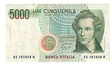 5000 LIRE BELLINI SERIE SOSTITUTIVA XC 1992 BB/SPL NON TRATTATO LOTTO 1522