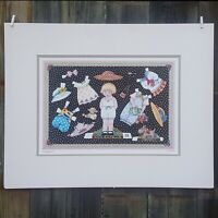 """SIGNED Numbered Art PRINT ~ MARY ENGELBREIT ~ PAPER DOLLS ~ 26 x 21"""" *"""