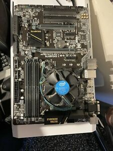 Intel Core i7-6700 3.4 GHz LGA1151 Quad-Core Processor With Motherboard