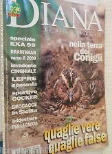 DIANA Special exa 99 Quaglie Cocker Coniglio selvatico Drahthaar Cinghiale di e