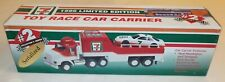 "7 Eleven 1996 Toy Race Car Carrier Complete In Box Collector's Series 13.5"" Box"