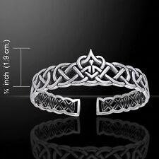 Cari Buziak Celtic Heart .925 Sterling Silver Bracelet Peter Stone