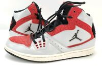 Nike Air Jordan Flight Platinum Black Red Silver mens Size 11