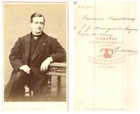 A. Armand, Bordeaux Monsieur Etchevery CDV vintage albumen carte de visite,  T