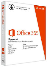 Microsoft Office 365 Personal With 1yr Subscription for 1 User -