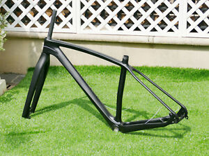 "2020 Carbon 29er Mountain Bike Frame 19"" 142 * 12mm AXLE QR 135 * 9mm + MTB Fork"