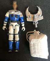 G.I. Joe 1990 Static Line Sky Patrol 80% Complete w/Parachute GI ARAH