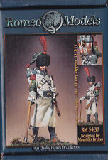 ROMEO MODELS - RM54037 - 54mm REIGN OF NAPLES LINE INFANTRY SAPPEUR 1812-15