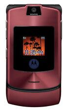 Motorola Moto Razr V3xx At&T Red Cell Phone Razor vCast razer flip camera