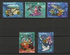 Walt Disney Maldives 5 timbres neufs 1987 /T3471