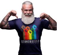 New Stonewall 50th Anniversary Gay Pride LGBT Rainbow Festival Premium T-shirt