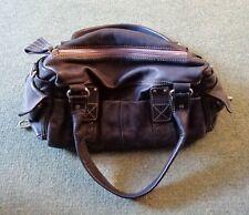 Black Leather Oushka Bag