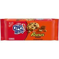 2 Bag CHIPS AHOY! Chewy Chocolate Chip Cookies W/ Reese's Peanut Butter Cups 9.5
