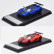 1:64 Koenigsegg One Orange/blue Car
