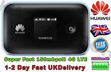 Huawei E5377T Desbloqueado Negro Lte 4G & 3G Móvil MIFI WIFI WIRELESS módem celular
