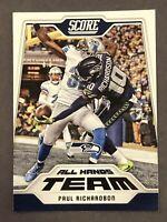 2018 Score Football All Hands Team #8 Paul Richardson Seattle Seahawks