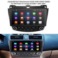 Android 9.1 10.1'' Car Stereo Radio Quad-core GPS 1+16GB For Honda Accord 03-07