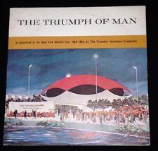 Triumph of Man 33 RPM Record New York World's Fair 1964-65 Travelers Insurance