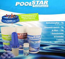 Poolstar Poolpflegeset Multifunktionspflege Poolbecken reinigen Poolpflege
