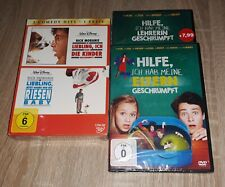 Liebling ich habe die Kinder geschrumpft, wir ein Riesen Baby, DVD, Rar, 4 Filme