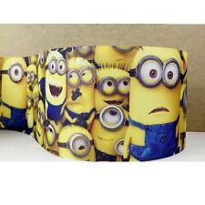 Cake Craft RIBBON Decoration Birthday Decorating- 50mm - MINIONS - 1m