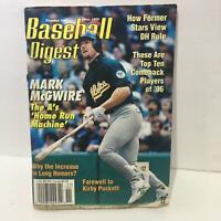 Baseball Digest Magazine November 1996 Mark McGwire