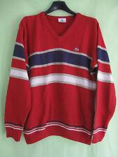 d0684c6ba8 Pull Lacoste Homme Acrylique Laine Devanlay Vintage Marine et rouge - 3