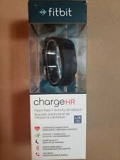 Fitbit Charge HR Activity Heart Rate Sleep Wristband Large Black 6.2 - 7.6 inch