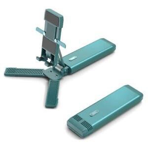 Mobile Phone Bracket Folding Retractable Mobile Phone Stand Holder Black White