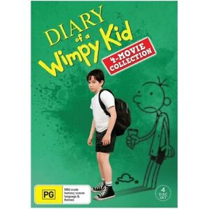 Diary of a Wimpy Kid : 4-Movie Collection (DVD, 2017, 4 disc-set)