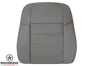 2006-2008 Dodge Magnum SE R/T SXT -Driver Side Lean Back Leather Seat Cover Gray