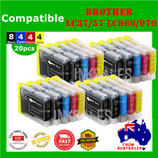 20x Ink Cartridges LC960 LC970 LC37 LC57 For Brother DCP 130C 135C 150C MFC 440